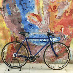 bicicleta commuter híbrida diseño abrilbike